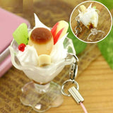 Food Sample Parfait Strap (Pudding) - Hamee Strapya World