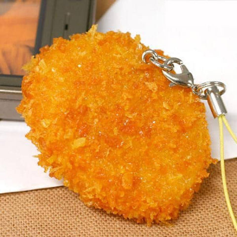 Food Sample Strap (Croquette) - Hamee Strapya World