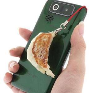 Potsticker Food Sample Strap (Gyoza) (Real Size) - Hamee Strapya World