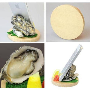Food Sample Smartphone Stand (Oyster) - Hamee Strapya World