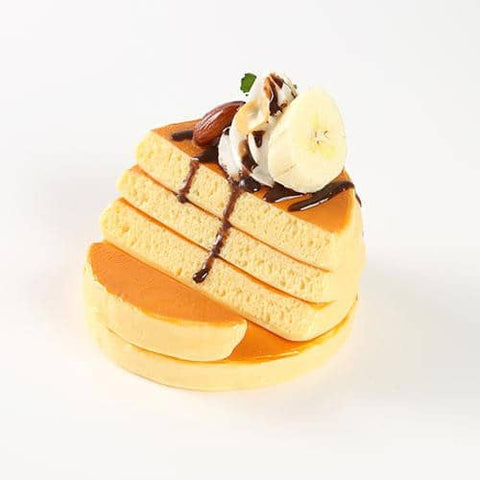 Food Sample Smartphone Stand (Pancake) (Chocolate and Banana Pancake) - Hamee Strapya World