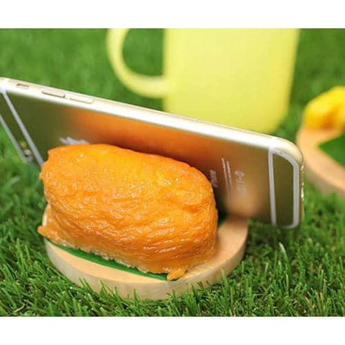 Food Sample Smartphone Stand (Inarizushi) - Hamee Strapya World