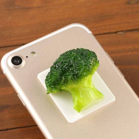 Food Sample Gourmet Decoration Sticker (Broccoli) - Hamee Strapya World
