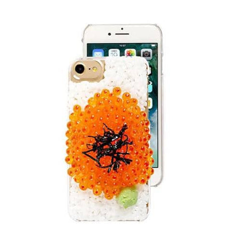 Food Sample Phone Case for iPhone 8/7 (Salmon Roe) - Hamee Strapya World