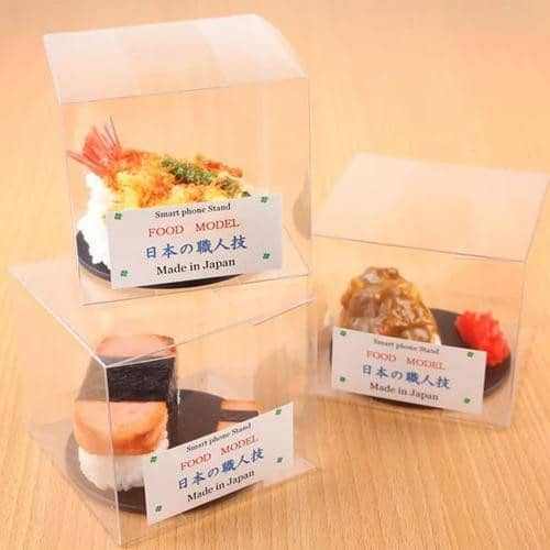 Food Sample Phone Case for Smartphones (Japanese Tempura Rice Bowl) - Hamee Strapya World
