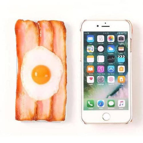 Food Sample Phone Case for iPhone 8/7 (Beacon Egg) - Hamee Strapya World