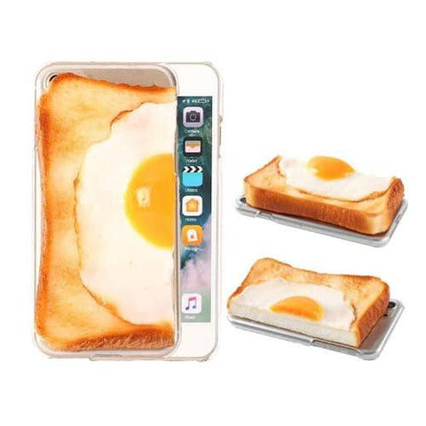 Food Sample Bread Phone Case for iPhone 8/7 (Left) - Hamee Strapya World