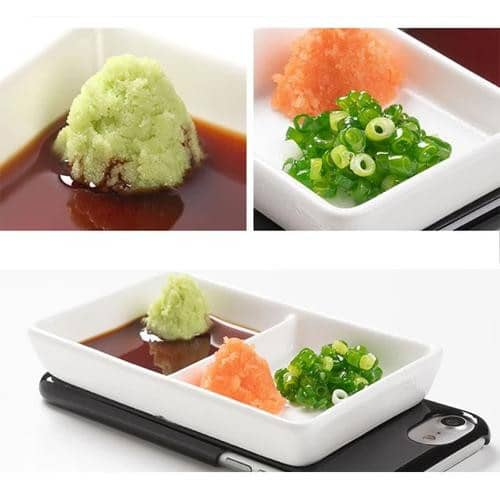 Food Sample Phone Case for iPhone XS/X (Condiment Dish) - Hamee Strapya World