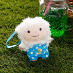 Si-Pun Sheep Plush Strap - Hamee Strapya World