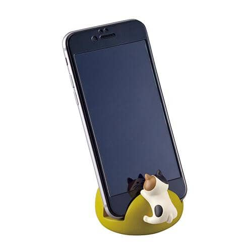 DECOLE Smartphone Stand (Hungry Mike Cat) - Hamee Strapya World