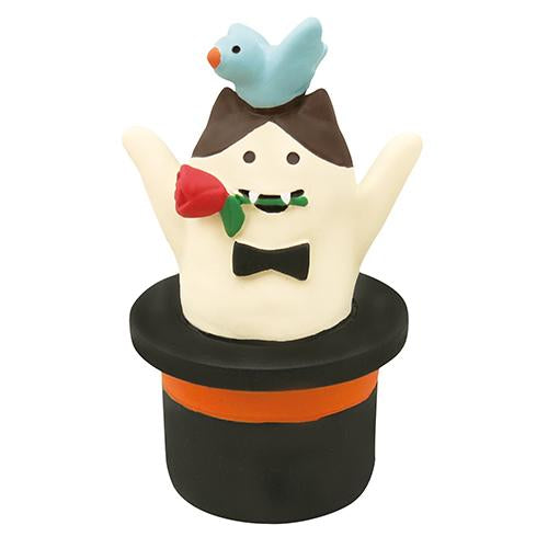 DECOLE Concombre Figures - Halloween (Magician Cat)