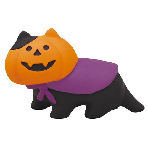 DECOLE Concombre Figures - Halloween (Ghost Pumpkin Cat)