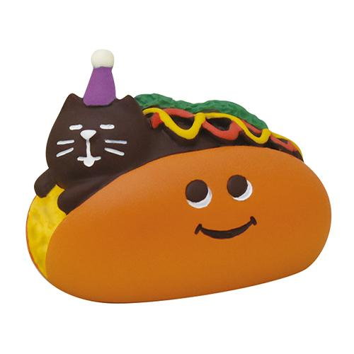 DECOLE Concombre Figures - Halloween (Cat Hotdog)