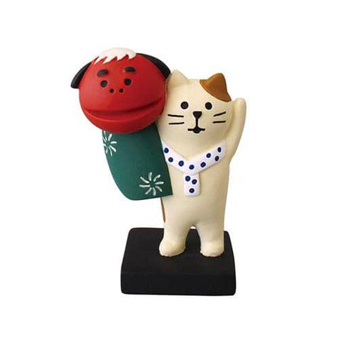 DECOLE Concombre Figures New Year (Dancing Cat) - Hamee Strapya World