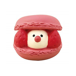 DECOLE concombre Figures Java Sparrow Cafe (Strawberry Macaron) - Hamee Strapya World