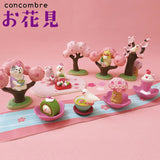 DECOLE Concombre Figures Ohanami (Vinyl Sheet) - Hamee Strapya World
