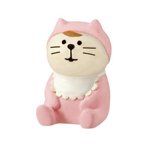 DECOLE Concombre Figures Happy Wedding (Baby Cat) (Pink) - Hamee Strapya World