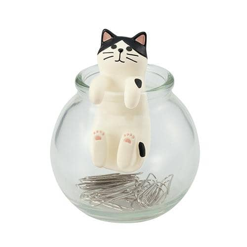 DECOLE HAPPY cat day Clip Bottle (Mask) - Hamee Strapya World