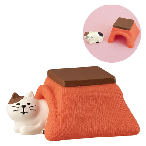 DECOLE Concombre Figures New Year (Kotatsu and Cat ) - Hamee Strapya World