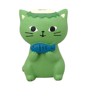 DECOLE Urameshi Nyanko Cat Clip Holder (Nekoppa) - Hamee Strapya World