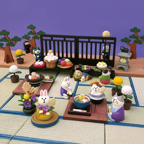 DECOLE Concombre Figures Tanabata Festival (Tatami) - Hamee Strapya World