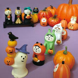DECOLE Concombre Figures Halloween (Puppy with Pumpkin) - Hamee Strapya World
