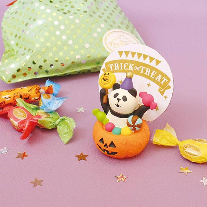 DECOLE Concombre Figures Halloween (Candy Panda) - Hamee Strapya World