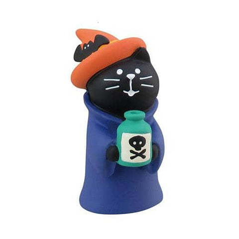 DECOLE Concombre Figures Halloween (Cat with Poison) - Hamee Strapya World
