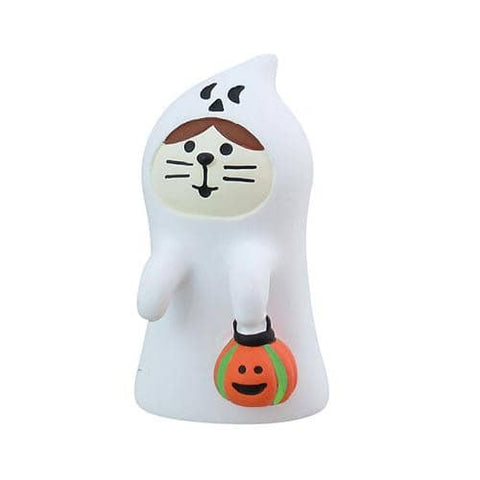 DECOLE Concombre Figures Halloween (Ghost Cat) - Hamee Strapya World