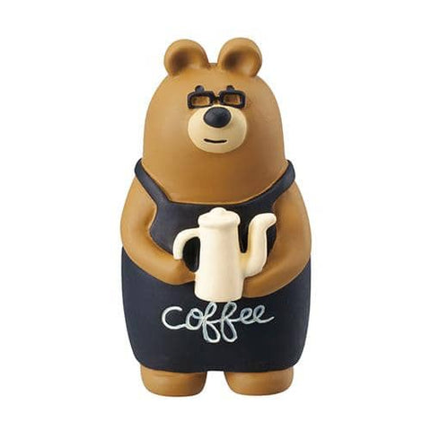 DECOLE Concombre Figures Old Style Cafe (Coffee Master) - Hamee Strapya World
