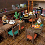 DECOLE Concombre Figures Old Style Cafe (Owl) - Hamee Strapya World
