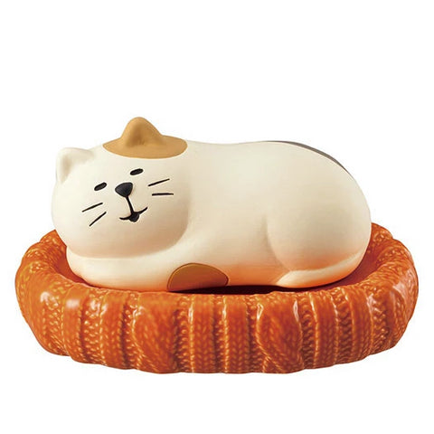 Pottery Animal Humidifier (Cat) - Hamee Strapya World