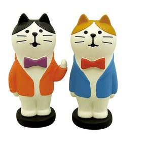 DECOLE Concombre Figures New Year (Comedy Cat Duo) - Hamee Strapya World