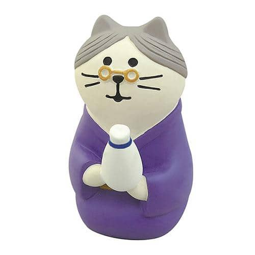 DECOLE Concombre Figures New Year (Cat Landlady) - Hamee Strapya World
