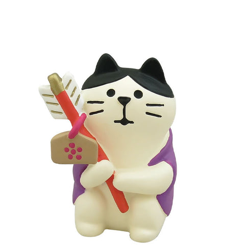 DECOLE Concombre Figures New Year (Cat New Year Shrine Visiting ) - Hamee Strapya World