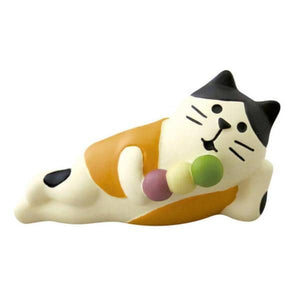 DECOLE Concombre Figures - Moon Viewing (Rice Dumpling Cat) - Hamee Strapya World