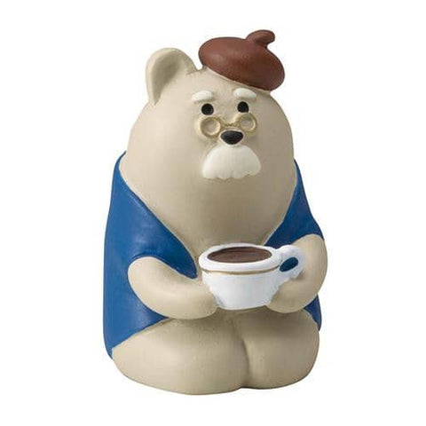 DECOLE Concombre Figures Old Style Cafe (Old Bear) - Hamee Strapya World