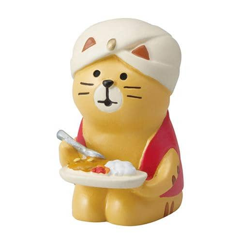 DECOLE Concombre Figures Old Style Cafe (Curry Cat) - Hamee Strapya World