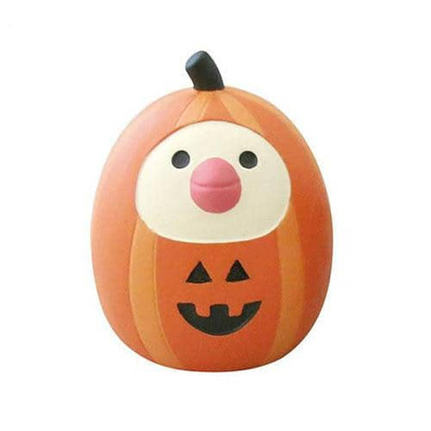DECOLE Concombre Figures - Halloween (Java Sparrow Pumpkin) - Hamee Strapya World