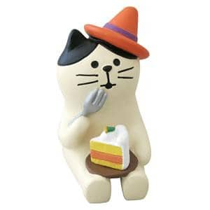 DECOLE Concombre Figures - Halloween (Pumpkin Cake Cat) - Hamee Strapya World