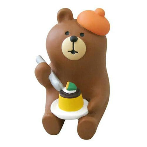 DECOLE Concombre Figures - Halloween (Pumpkin Pudding Bear) - Hamee Strapya World