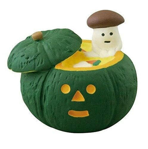 DECOLE Concombre Figures - Halloween (Pumpkin Mushroom) - Hamee Strapya World