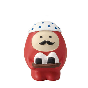 DECOLE Concombre Figures - Moon Viewing (Daruma Omusubi) - Hamee Strapya World
