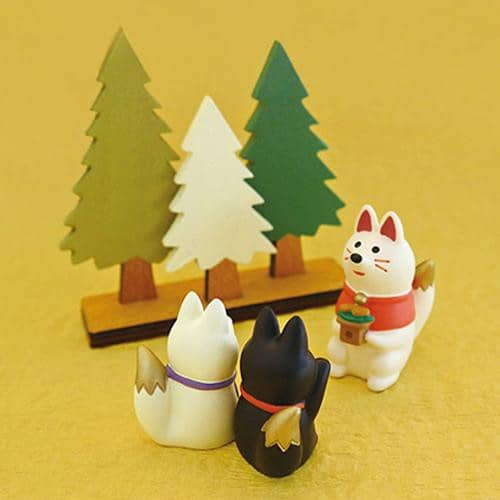 DECOLE Concombre Figures - Mattari Shrine (Beckoning Fox) - Hamee Strapya World