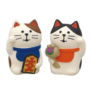 DECOLE Concombre Figures - Mattari Shrine (Pair Beckoning Cat) - Hamee Strapya World