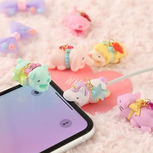 CABLE BITE Cable Protector - Lovely Animal - Hamee Strapya World