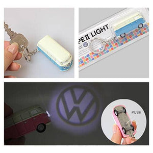 Volkswagen Key Chain LED Light (Green) - Hamee Strapya World