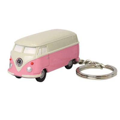 Volkswagen Key Chain LED Light (Pink)