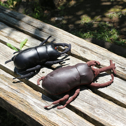 Beetle Leather Plush