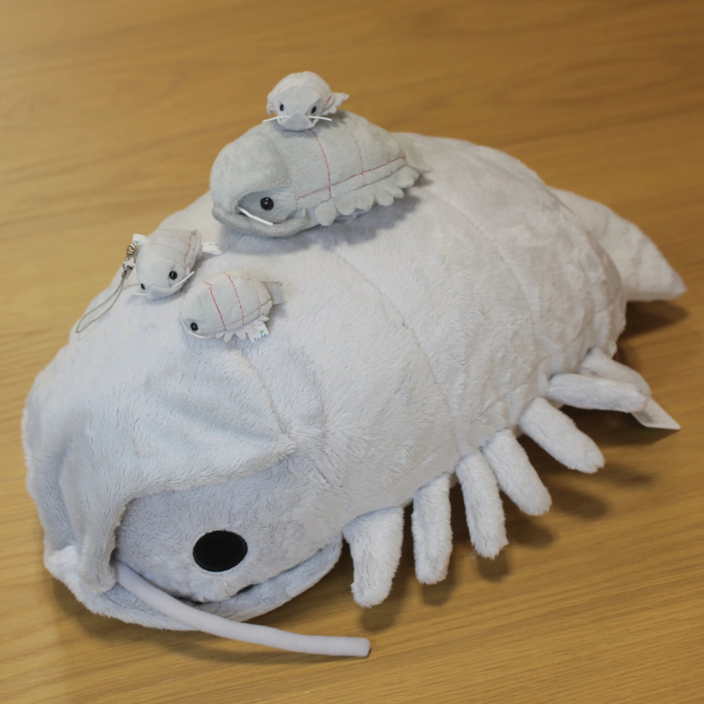 Giant Isopod Plush - Deep Sea Creature Series - Hamee Strapya World